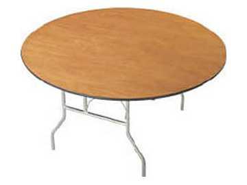 table pliante ronde 72 pouces en bois vendre quebec annonces gratuites qu bec annonces. Black Bedroom Furniture Sets. Home Design Ideas