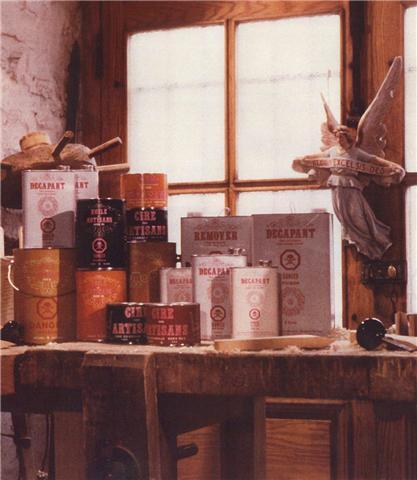 Artisans du meuble qubcois produits de finitions pour les for Les artisans du meuble