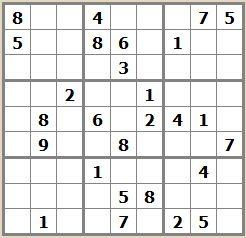 sudoku gratuit difficile